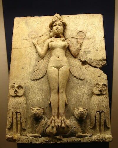 イシュタルのレリーフ / Wikipedia