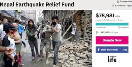 Nepal Earthquake Relief Fund / lokeshtodi