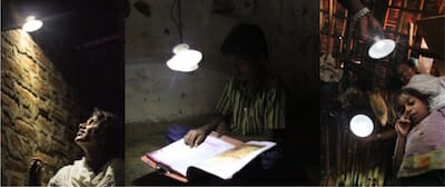 Over 90% of those who tried GravityLight said they would use one instead of a kerosene lamp!