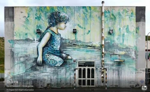 Google Street Art / Alice Pasquini | Emergence