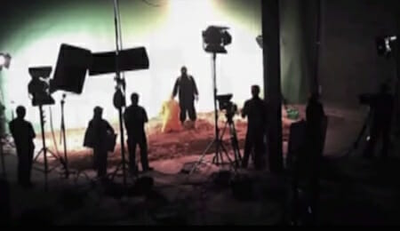 Staged ISIS Beheading Video