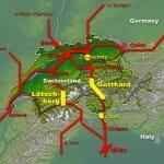 世界最長のゴッタルドベーストンネル(Gotthard-Basistunnel)開通