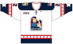 New York Riveters Jersey $119.00