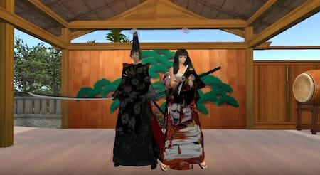 ハロウィンでようかい体操を踊ろう! in Second Life / Yana