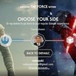 CHOOSE YOUR SIDE: Google が Star Wars 化します(^^)