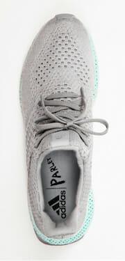 adidas 3D-printed ocean plastic