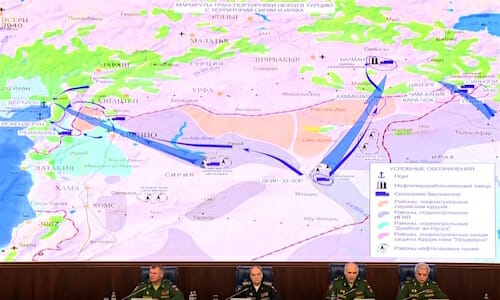"Media briefing ""Russian Federation Armed Forces fighting against international terrorism. New data"" / eng.mil.ru"