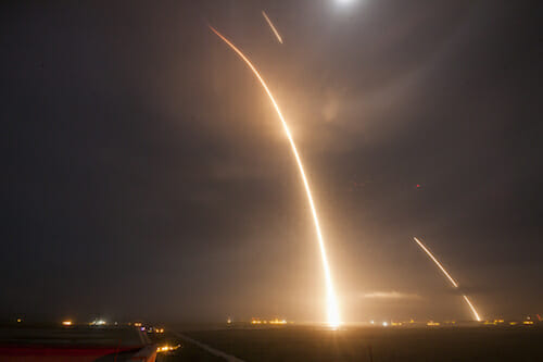 Launch, Re-entry, and Landing Burns