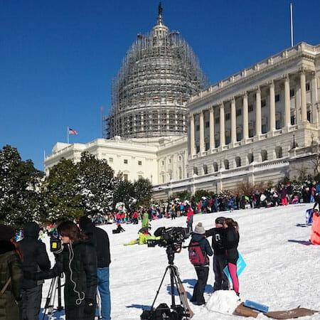 #snowzilla sledding & such / Payton Chung