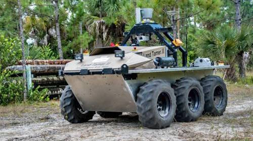 CMU's Land Tamer autonomous Unmanned Ground Vehicle (UGV) / NREC