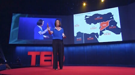 Melissa Fleming: How to help refugees rebuild their world