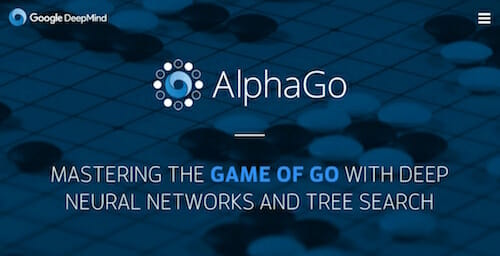 AlphaGo / Google DeepMind Website