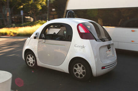 Google's in-house driverless car design / Wikipedia
