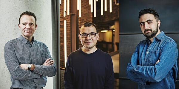Shane Legg, Demis Hassabis, Mustafa Suleyman / Google DeepMind