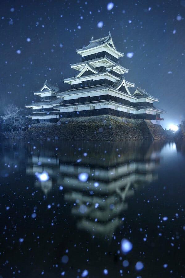 Matsumoto Castle in Japan / imgur.com