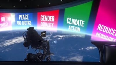 Global Goals Message from Professor Stephen Hawking / The Global Goals