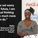 「5by20」により120万人以上の女性起業家を支援(Coca-Cola)