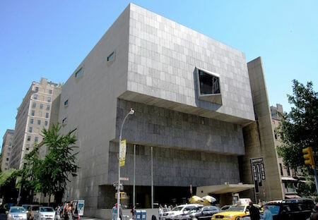 The Breuer building in 2010, when it was the Whitney Museum of Art / Wikipedia