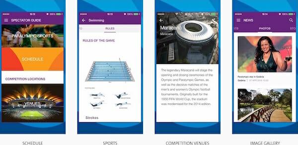 Rio 2016 Mobile App : PT/EN/ES/FR