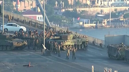 Turkey military coup attempt