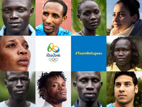 難民選手団(Refugee Olympic Athletes team)/ UNHCR
