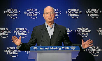 Klaus Schwab at the WEF in 2008 / WEF