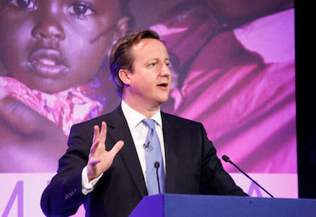 Prime Minister David Cameron at the London Summit for Family Planning by DFID - UK Department for International Development