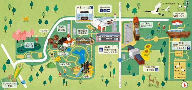 周辺マップ | 道の駅 阿寒丹頂の里-クレインズテラス- - wixsite.com