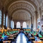 世界初の「FREE TO ALL」を掲げるボストン公共図書館
