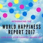 世界幸福度ランキング2017(World Happiness Report 2017)日本51位