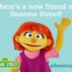 セサミストリートに自閉症の女の子(ジュリア)加入