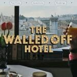 バンクシーが壁を一望するホテルを開業(The Walled Off Hotel)