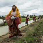 ロヒンギャ避難民の緊急事態に支援を(空からの映像)
