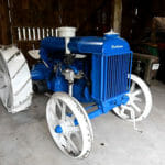 世界最古の動く量産型トラクター: フォードソンF25型