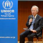 日本人初のナンセン難民賞(UNHCR)を受賞した金井昭雄さん